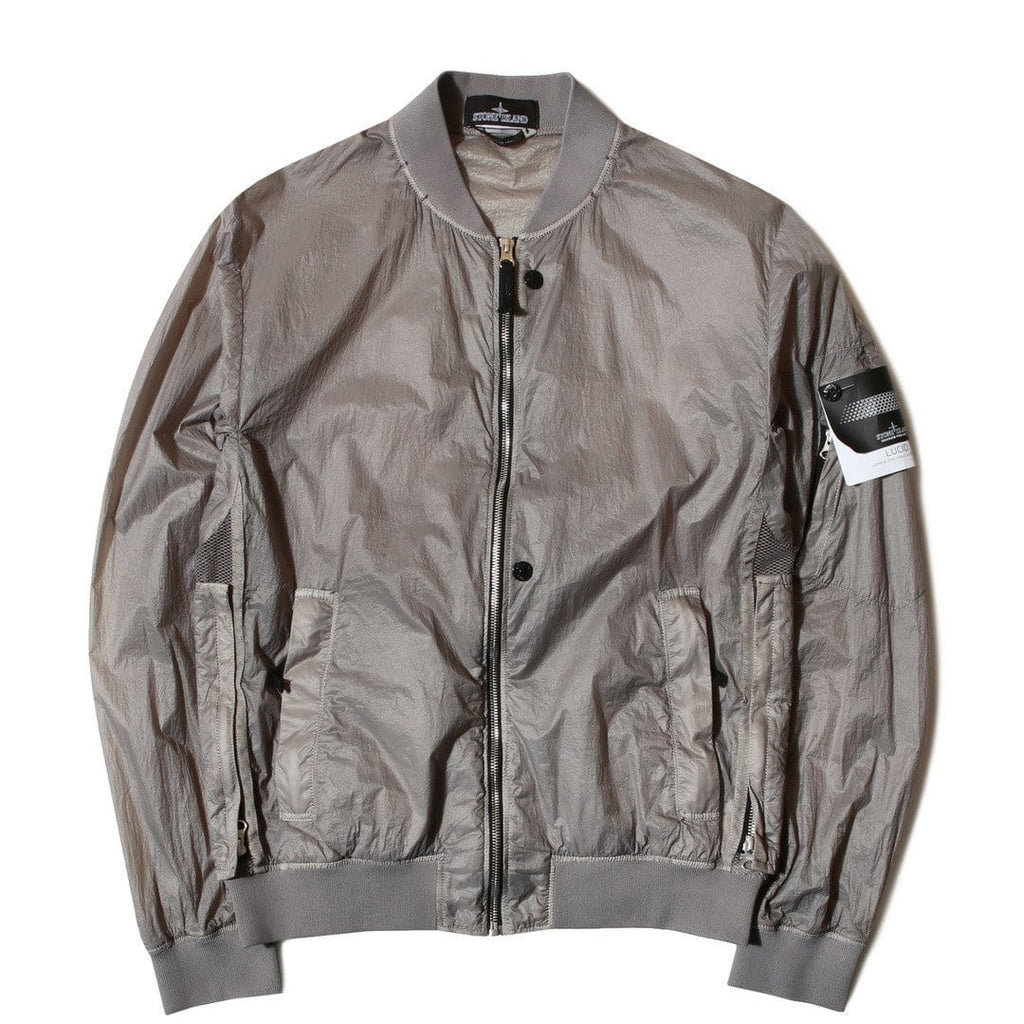 Stone Island Shadow Project Sheer Vent Bomber Jacket Grey – Bodega