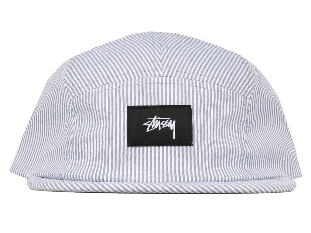 Stussy SEERSUCKER CAMP CAP Grey