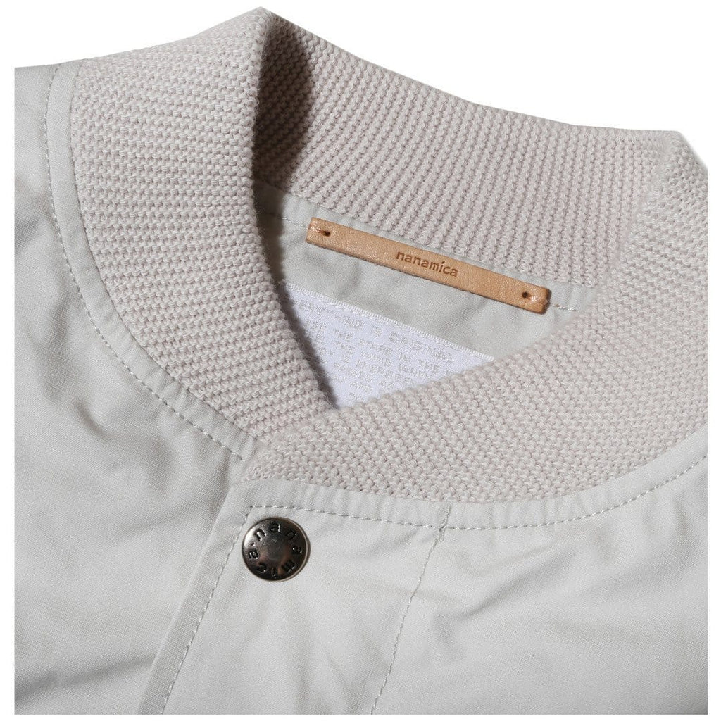 Nanamica SPLASH GROUND JACKET Light Beige