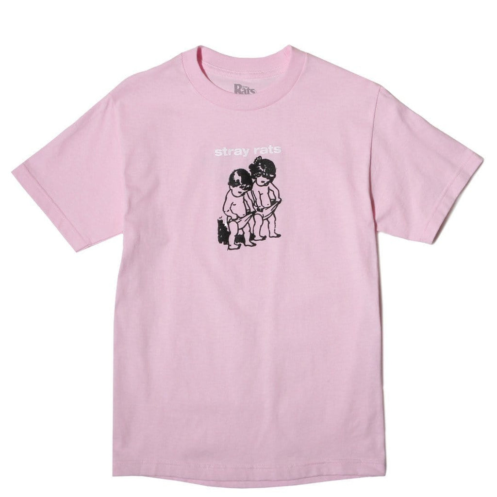 Stray Rats GIRL BOY TEE Pink