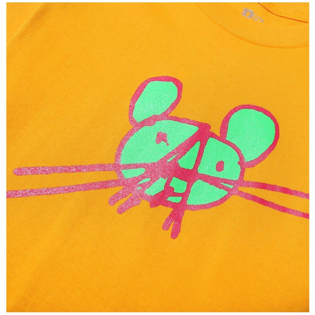 Stray Rats ANARCHY RAT TEE Gold