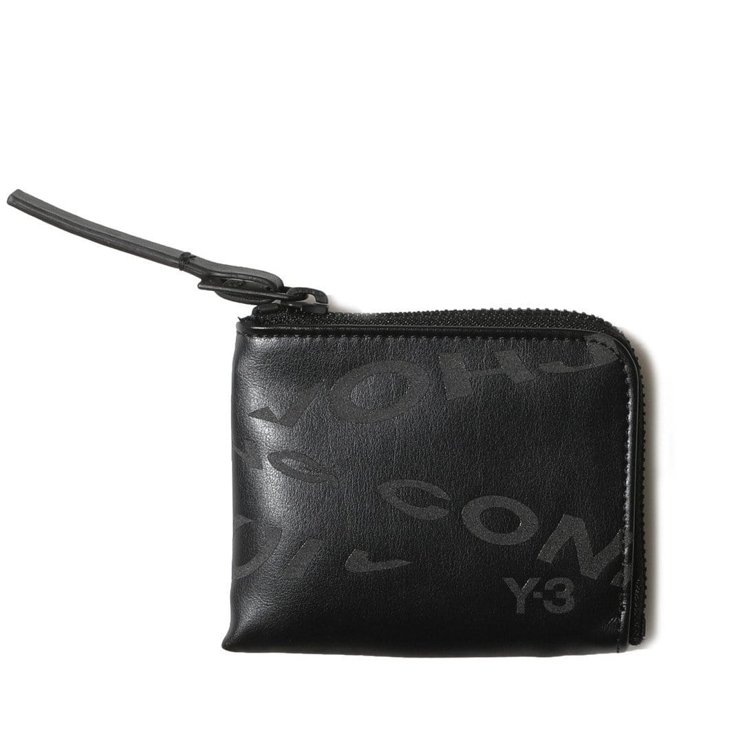 Adidas Y-3 Bags & Accessories BLACK Y-3 ZIP WALLET