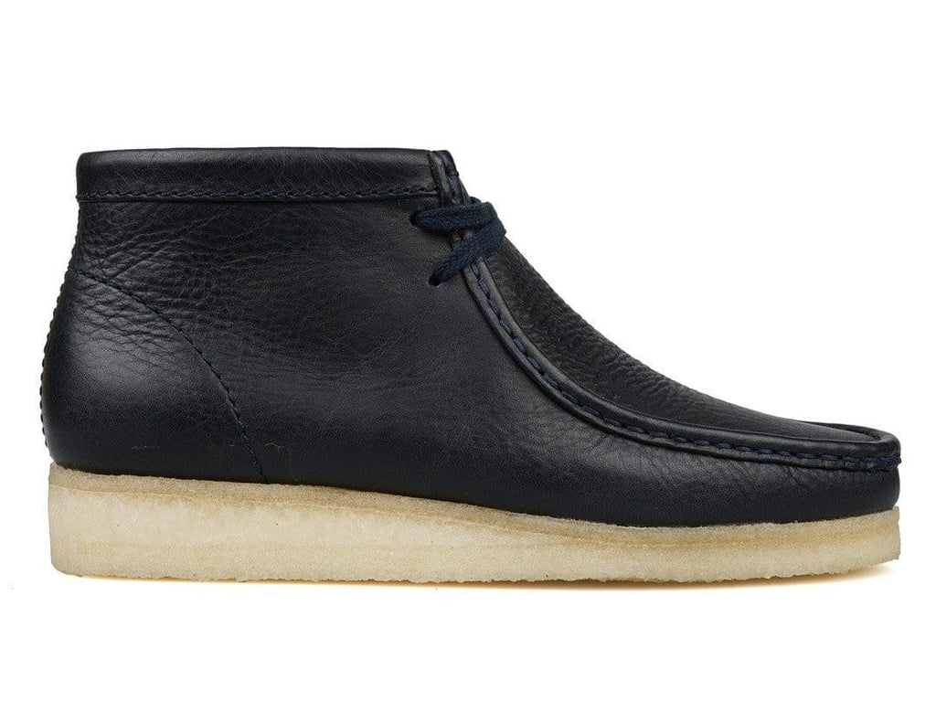 Clarks WALLABEE BOOT Navy