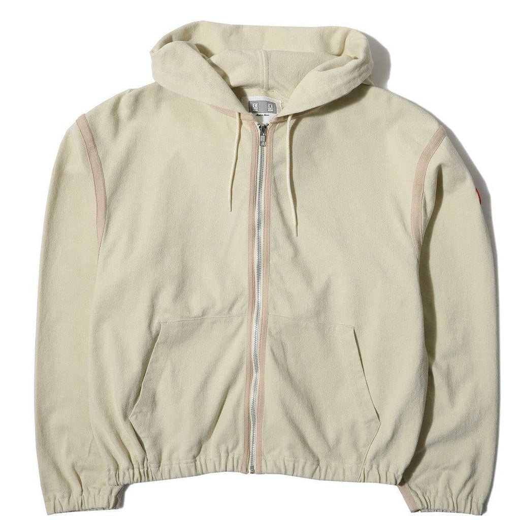 Cav Empt LIGHT ZIP HOODY Beige