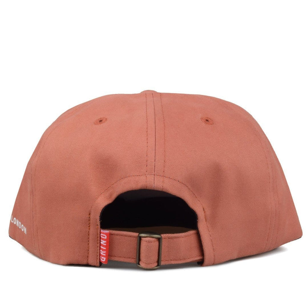 Grind London BRUSHED COTTON CAP Peach