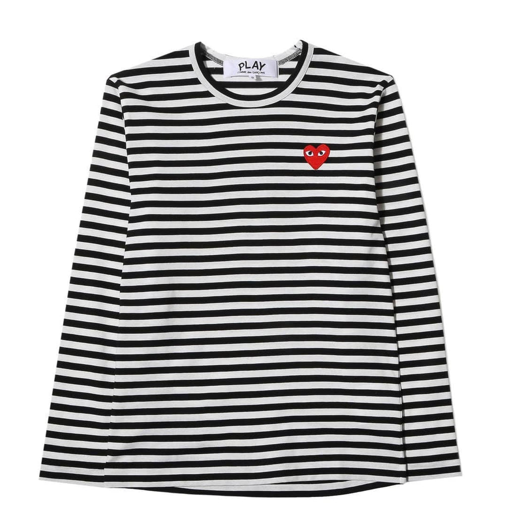 89fe71d131b9c Comme des Garcons Play Striped T-Shirt Black/White – Bodega