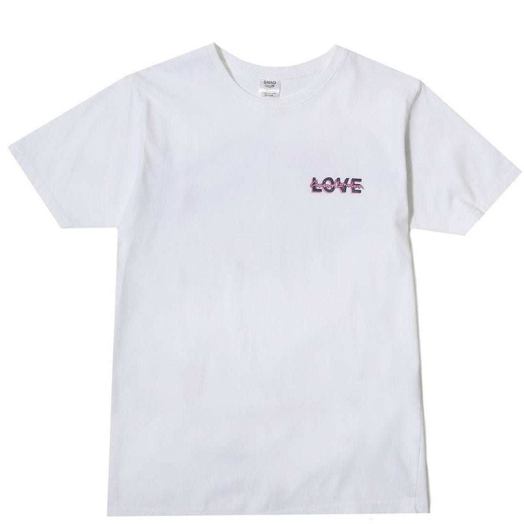 Grind London CLUB LOVE ME NOT White