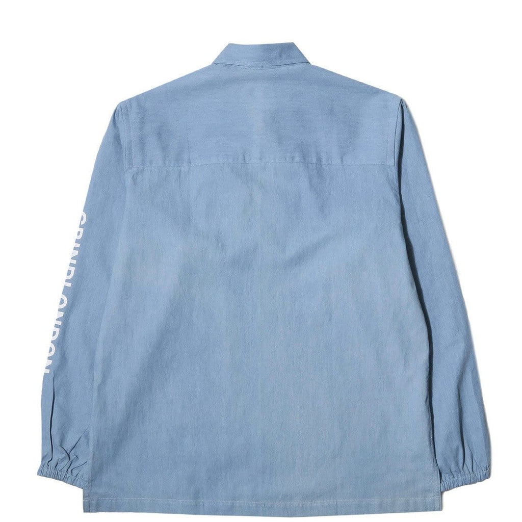 Grind London LIGHTWEIGHT JAPANESE DENIM Pullover