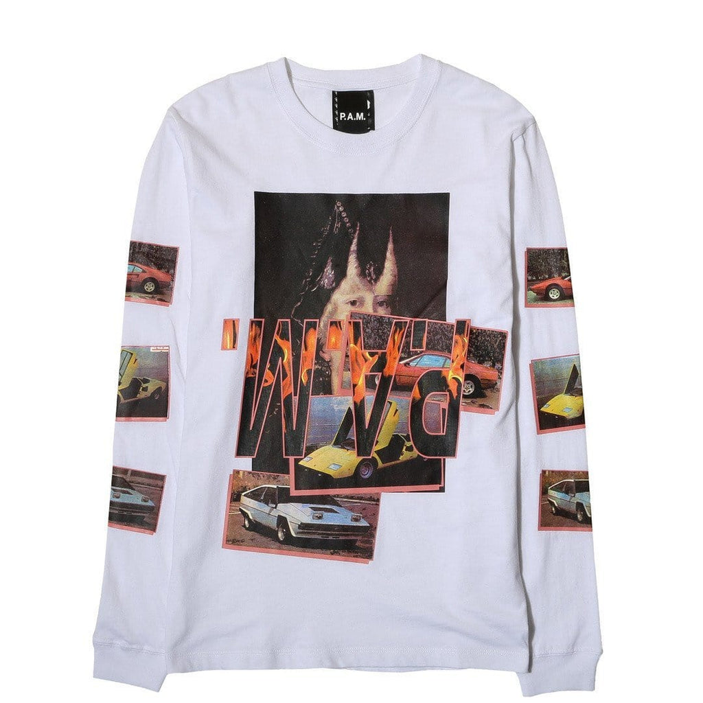 Perks and Mini WITCH CAR L/S T-SHIRT White