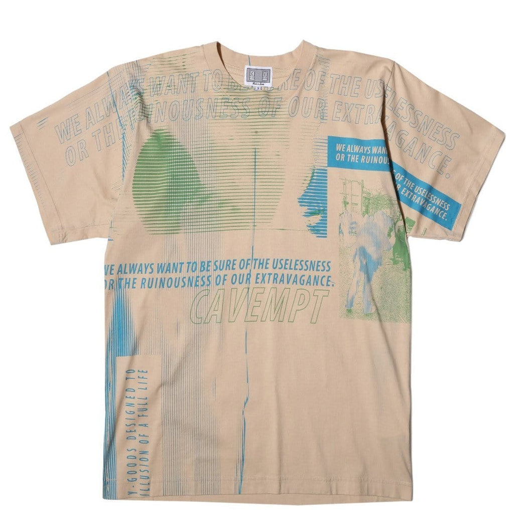 Cav Empt RUINOUS BIG T Tan