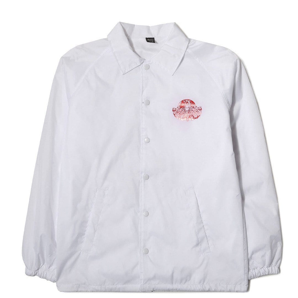 Brain Dead NEW ORDER COACHES JACKET White