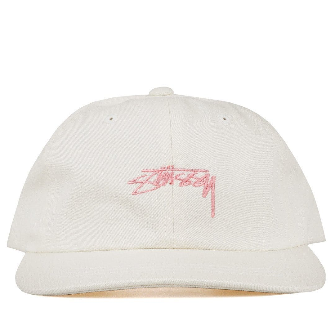 Stussy Headwear CREAM / O/S SMOOTH STOCK LOW CAP