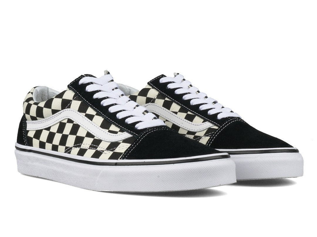 vans old skool espresso checkerboard