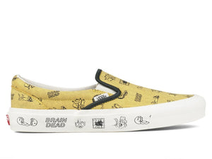 Vans Vault Shoes X BRAIN DEAD CLASSIC SLIP-ON LX