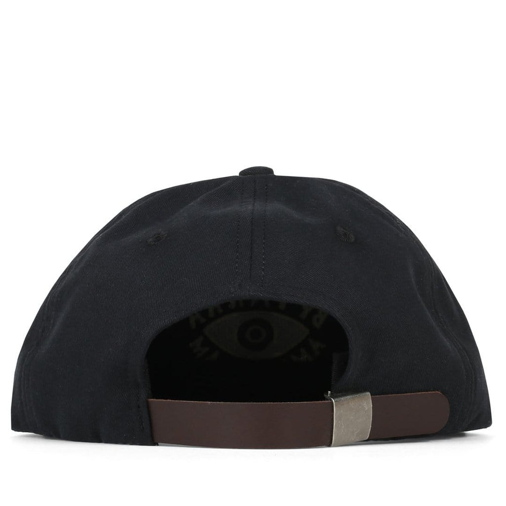 Rockwell By Parra 6 PANEL HAT EYE Black
