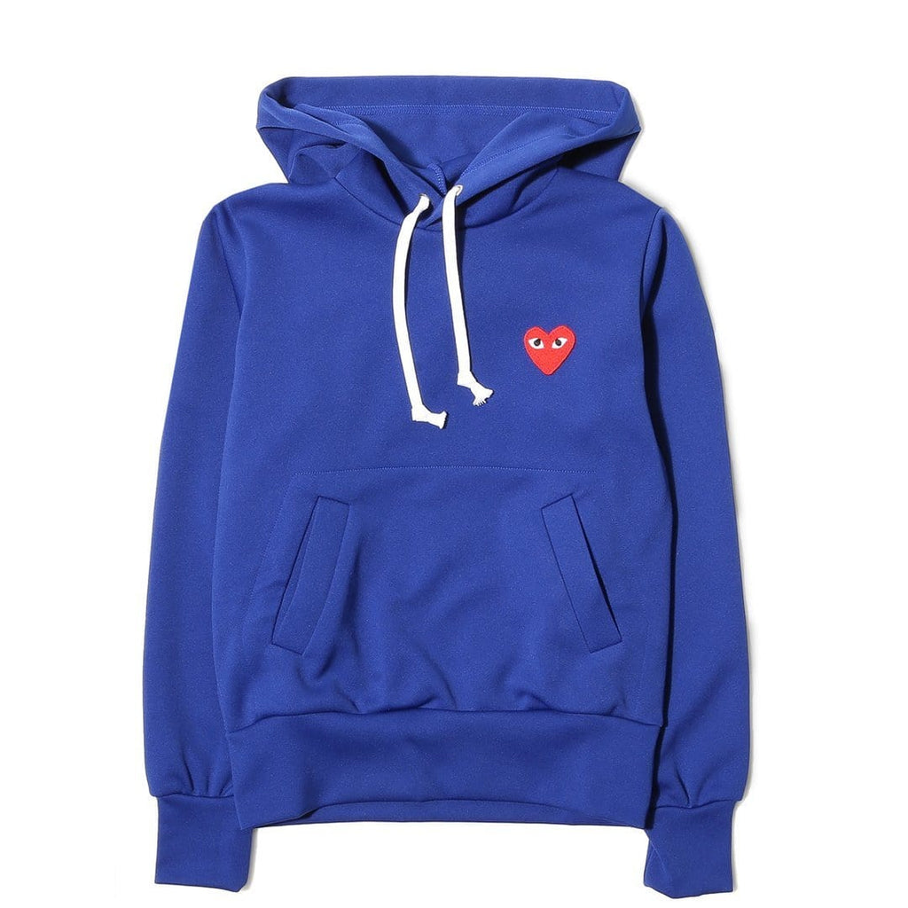 Comme des Garcons WOMEN'S PLAY HOODIE Blue – Bodega