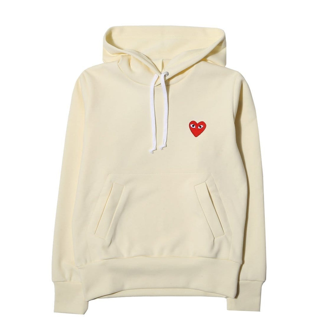 01a196f3aae5 Comme des Garcons WOMEN S PLAY HOODIE Cream – Bodega