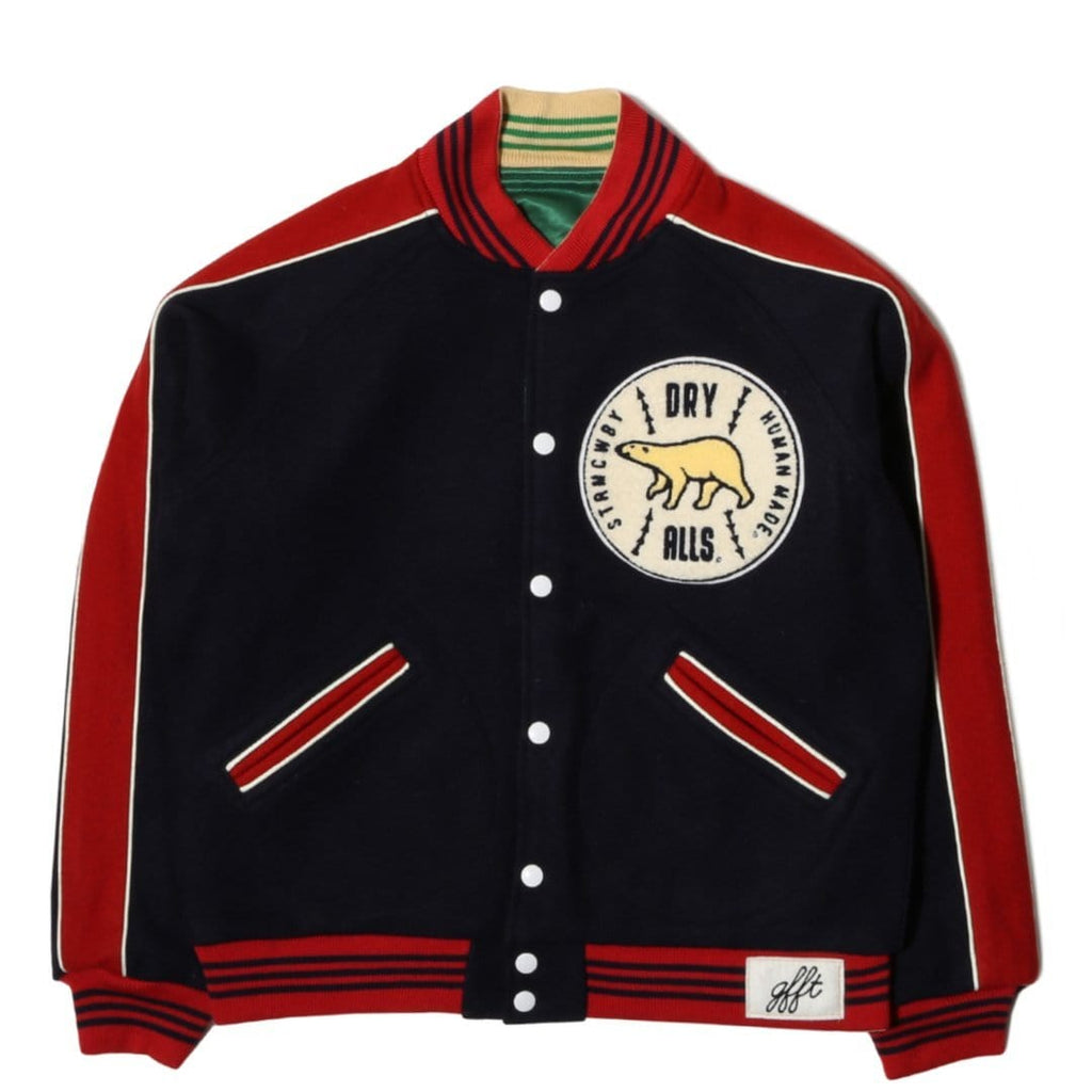 Human Made CAR CLUB JACKET Navy
