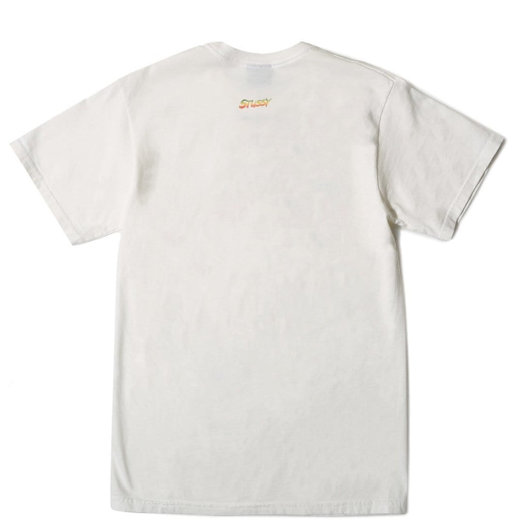 Stussy KINGSTON PIG. DYED TEE Natural