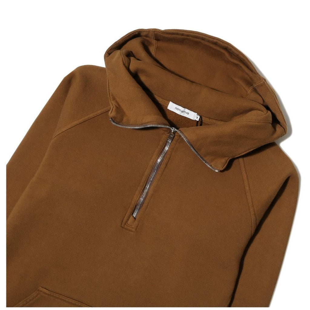 Nonnative COACH HALF ZIP HOODY Soil