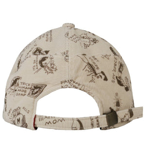 Human Made Headwear WHITE / O/S PRINT PATCHWORK CAP