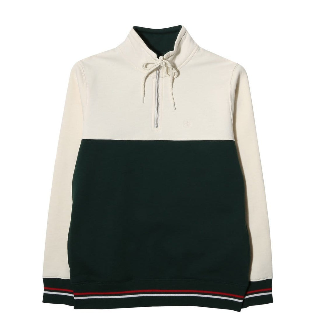 Stussy DRAWCORD MOCK NECK Green