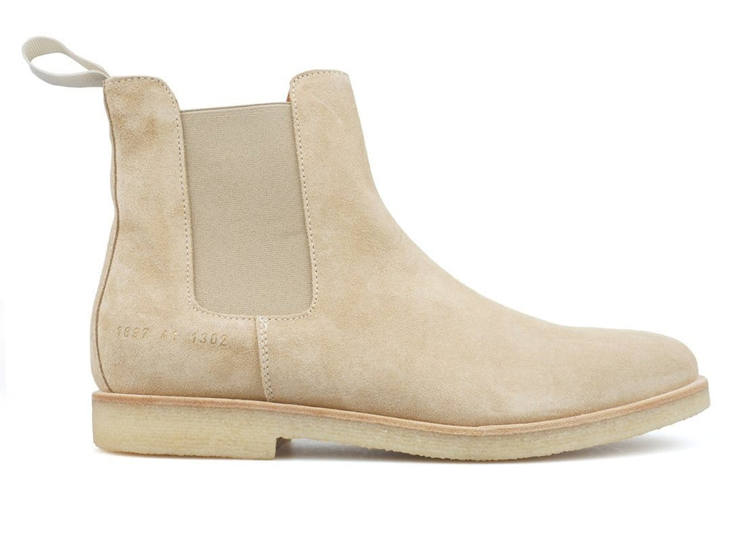 Common Projects CHELSEA BOOT (SUEDE) Tan