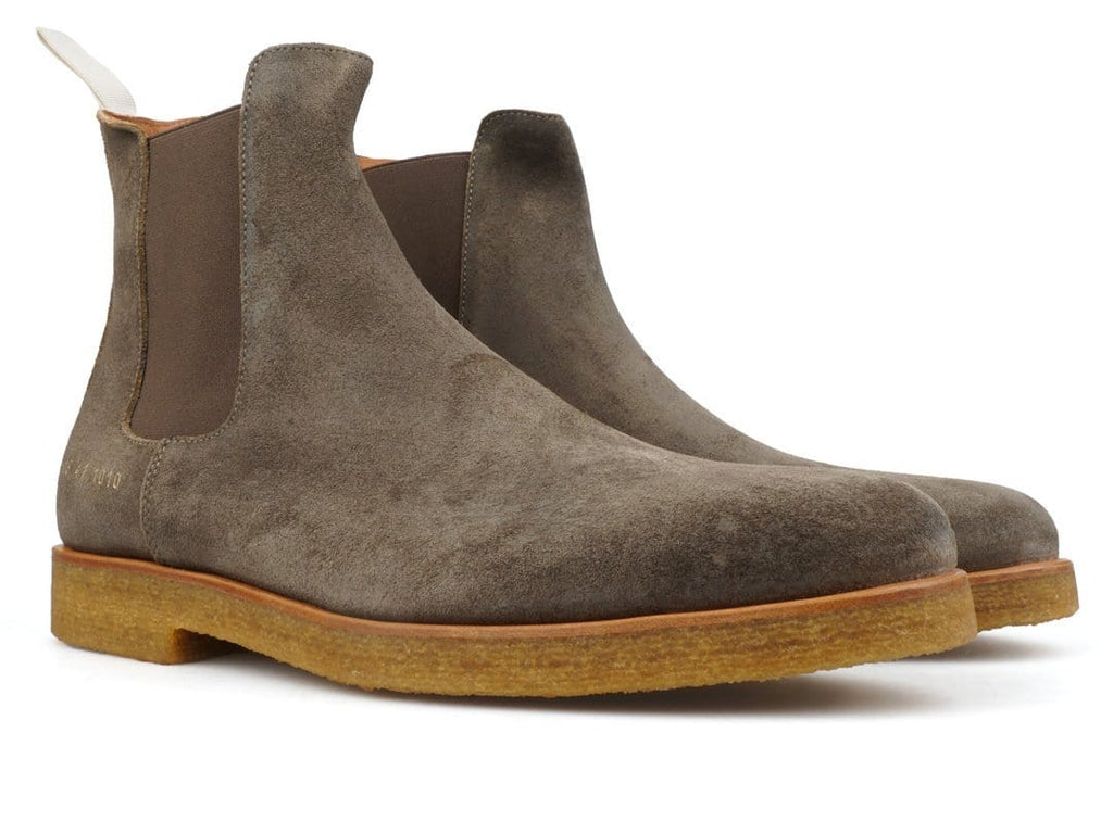 Common Projects CHELSEA BOOT (WAX SUEDE) Olive