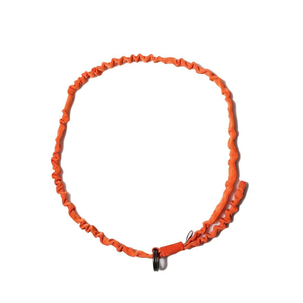 Sasquatchfabrix DOUBLE RING LONG BELT Storm Orange