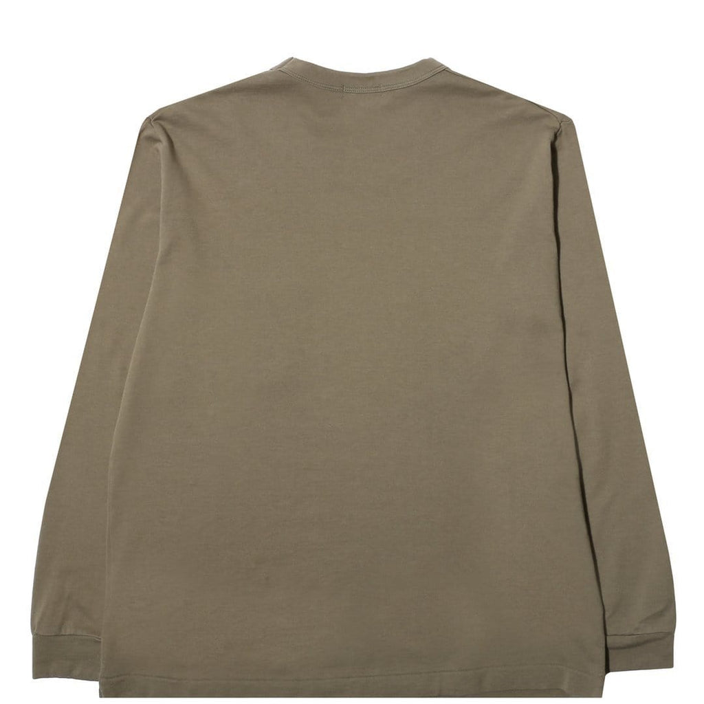 Nanamica CREW NECK SHIRT Light Khaki