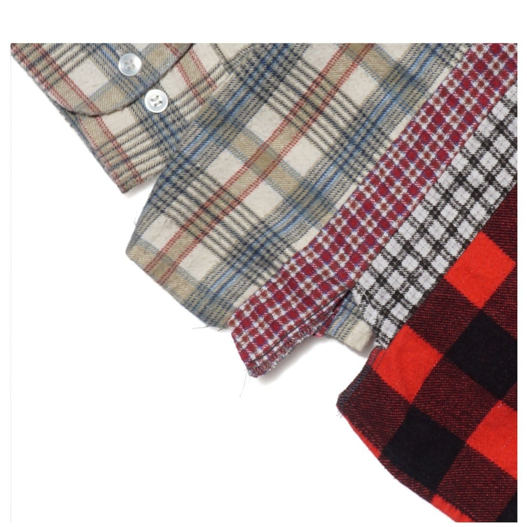 Needles Shirts ASSORTED / S 7 CUTS FLANNEL SHIRT 1