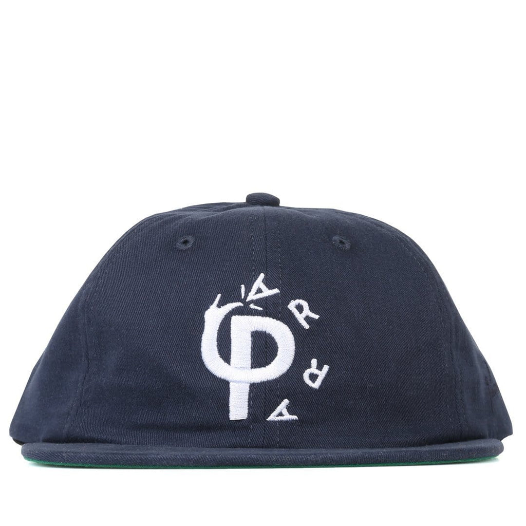 By Parra 6 PANEL HAT STOMP Navy Blue