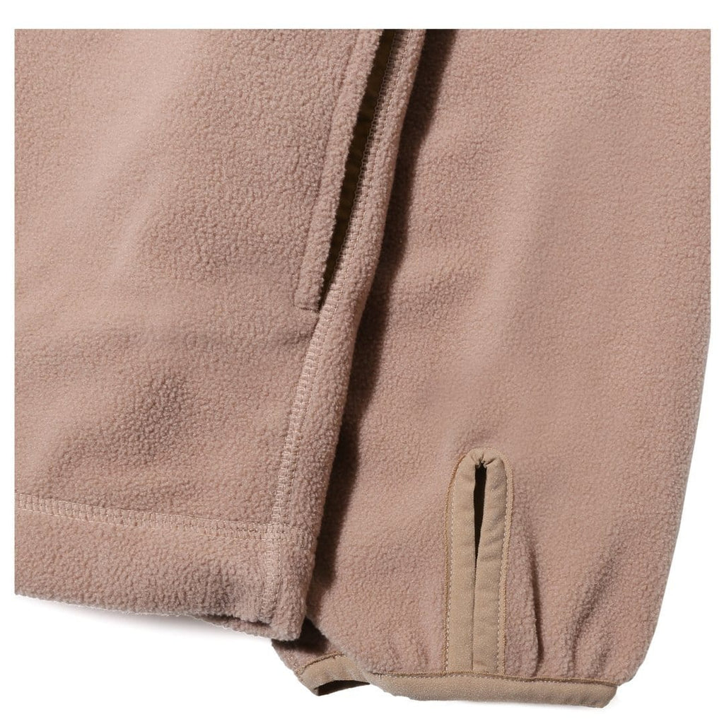 Nonnative CYCLIST FULL ZIP HOODY Beige