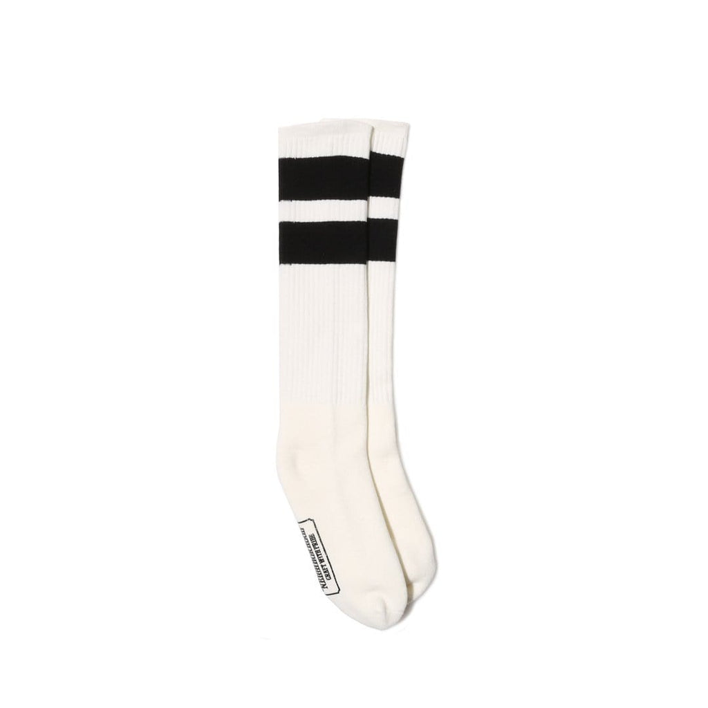 Neighborhood CLASSIC 3PAC / CA-LONG SOCKS White