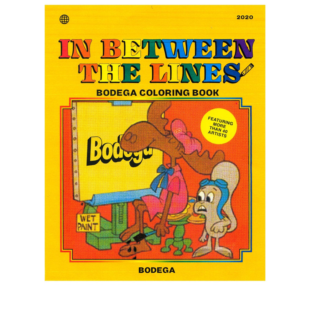 Bodega Books IN BETWEEN THE LINES: A BODEGA COLORING BOOK