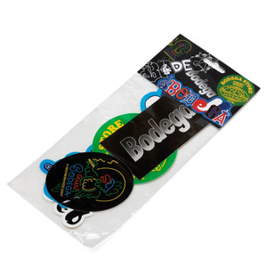 Bodega Bags & Accessories MULTI / O/S BDGA STICKER PACK