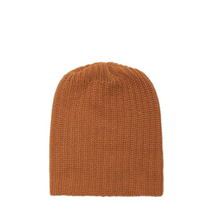 Bricks & Wood Headwear CINNAMON / O/S CINNAMON HEAVY KNIT BEANIE