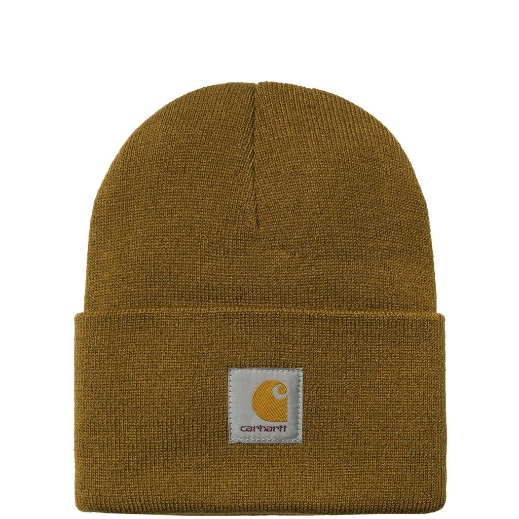 Carhartt W.I.P. ACRYLIC WATCH HAT Hamilton Brown
