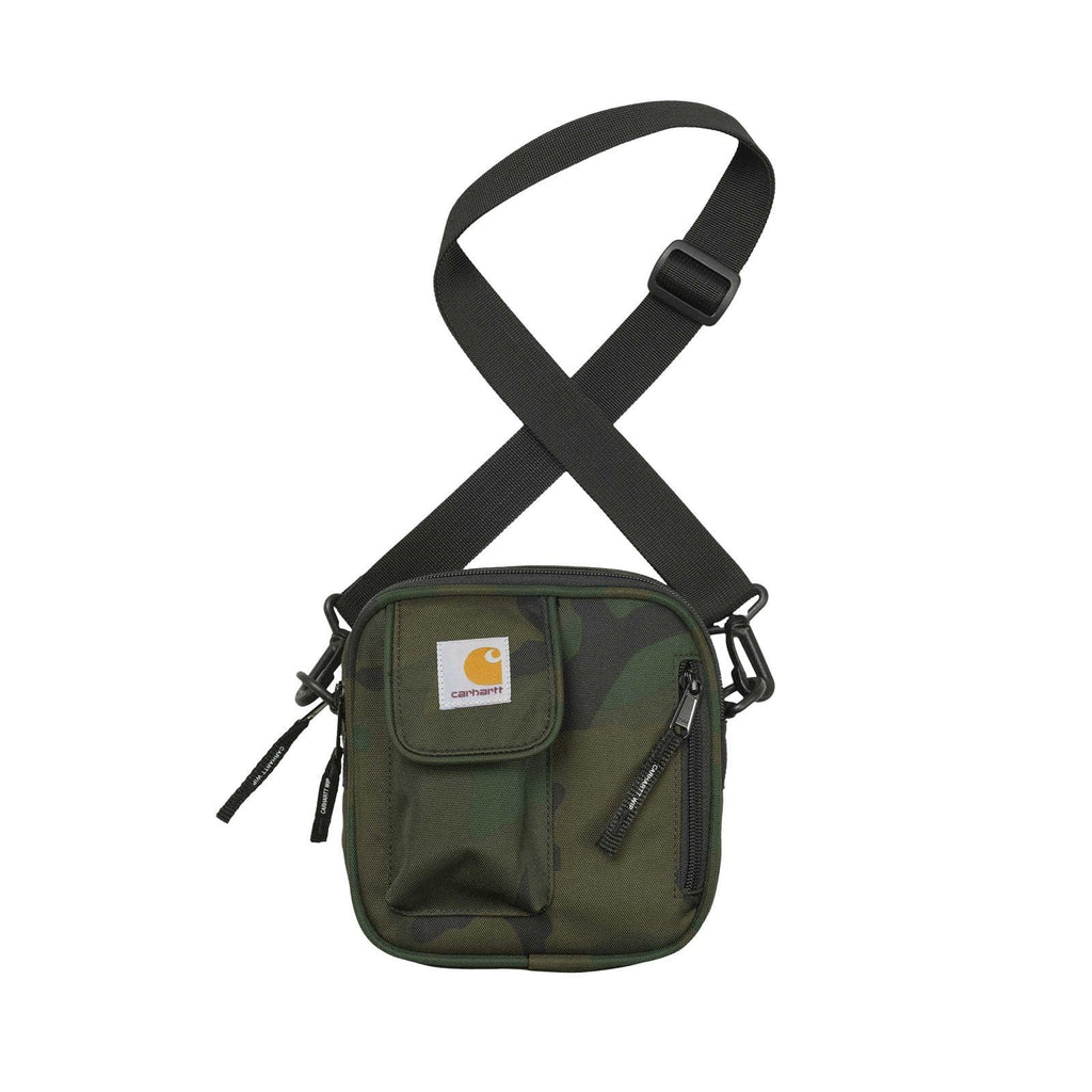 Carhartt W.I.P. Bags & Accessories CAMO COMBAT GREEN / O/S ESSENTIALS BAG, SMALL