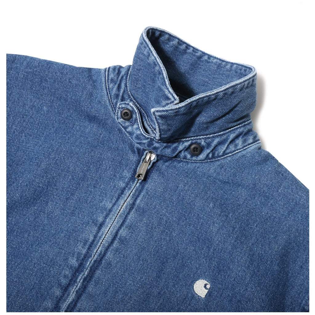 Carhartt W.I.P. MADISON JACKET Blue/White
