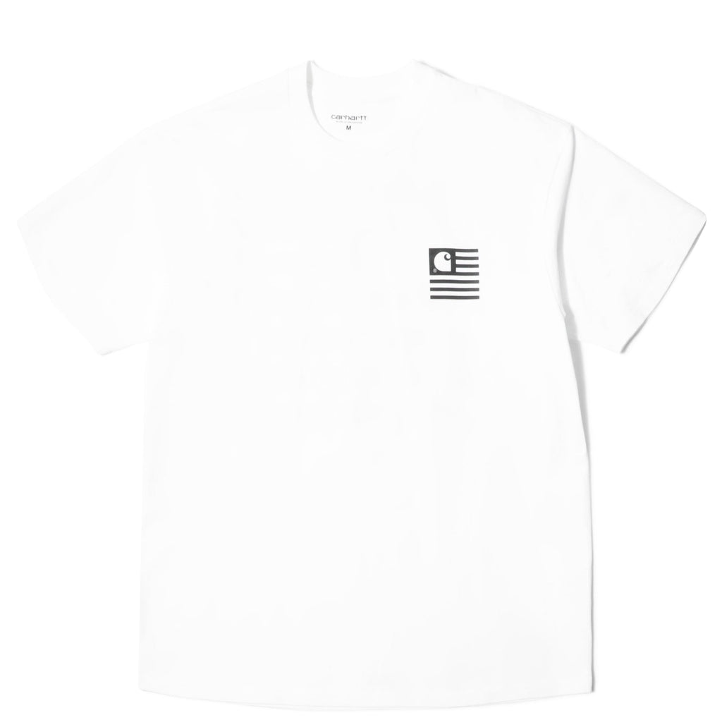 S/S STATE PATCH T-SHIRT White
