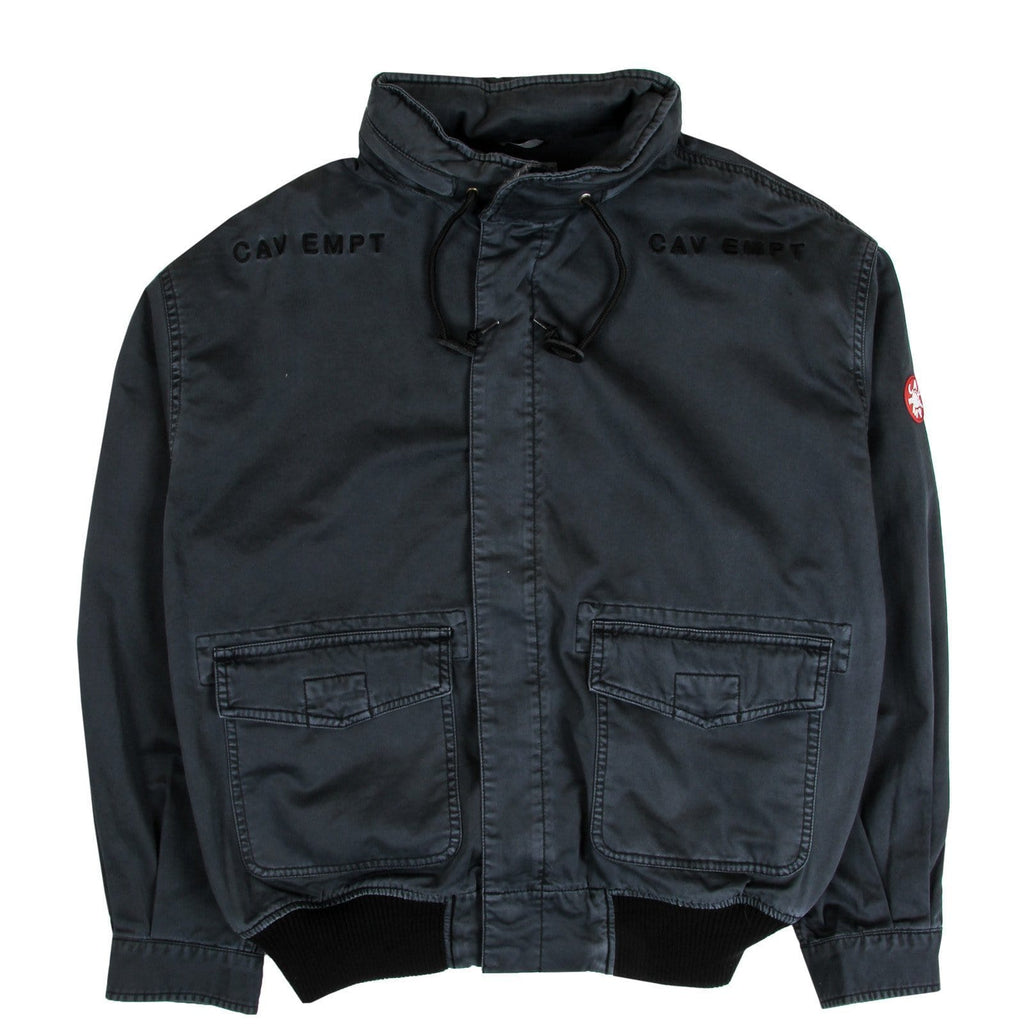Cav Empt LIGHT COTTON ZIP JACKET Charcoal