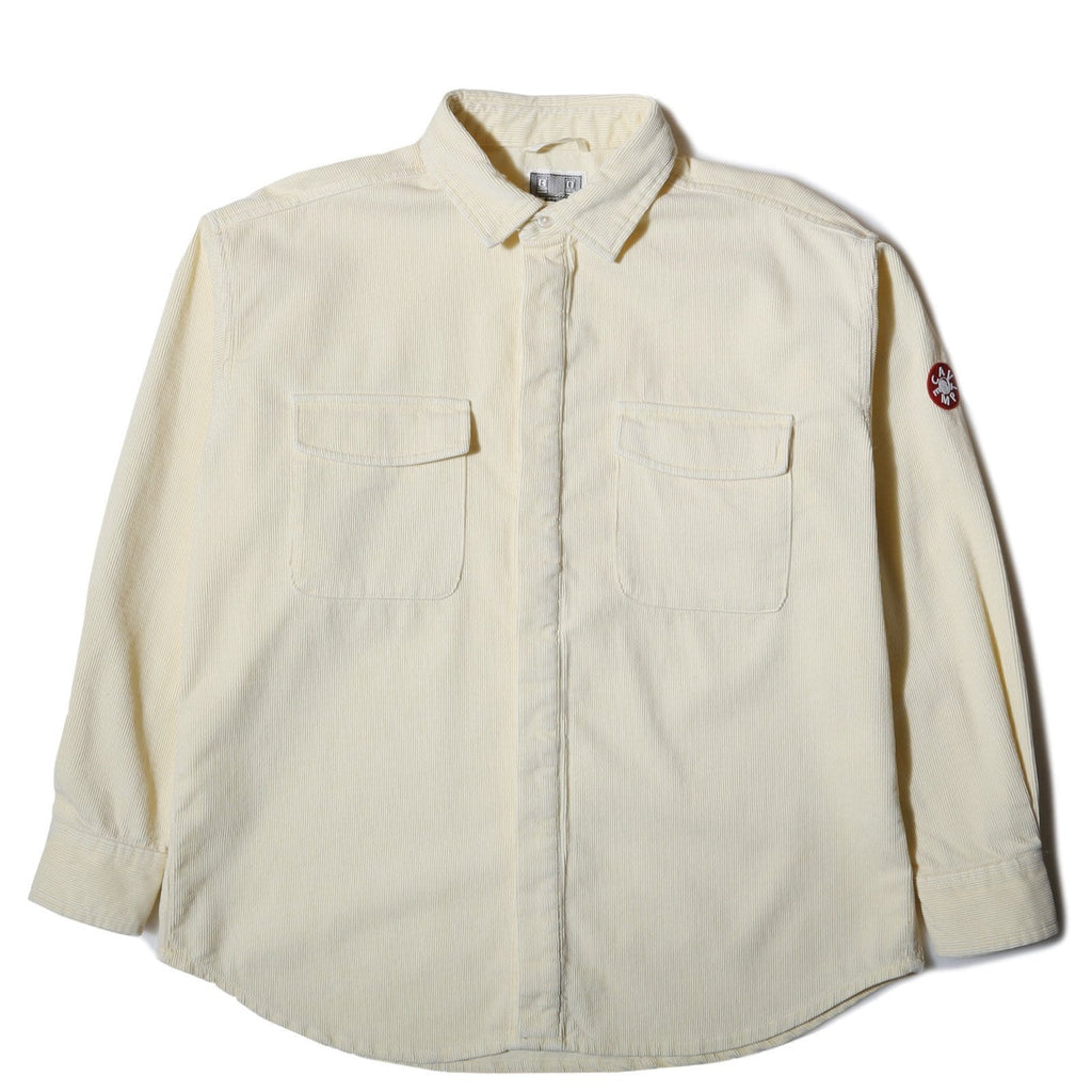 Cav Empt BIG CORD SHIRT LIGHT YELLOW