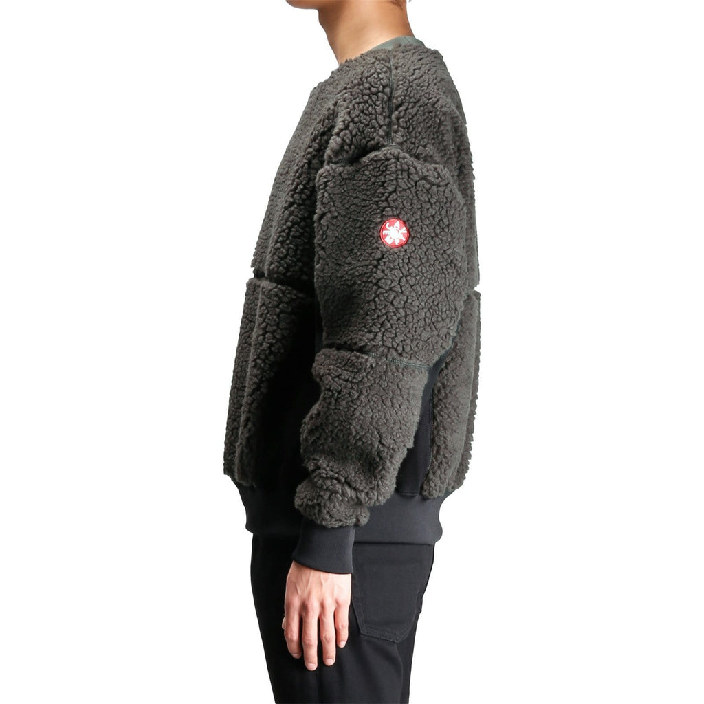 Cav Empt BOA FLEECE CREW NECK Charcoal