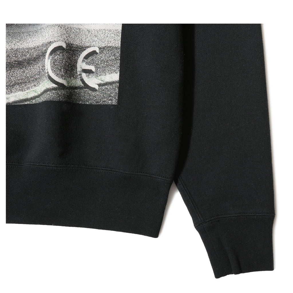 Cav Empt NIGHT VECTOR CREW NECK Black