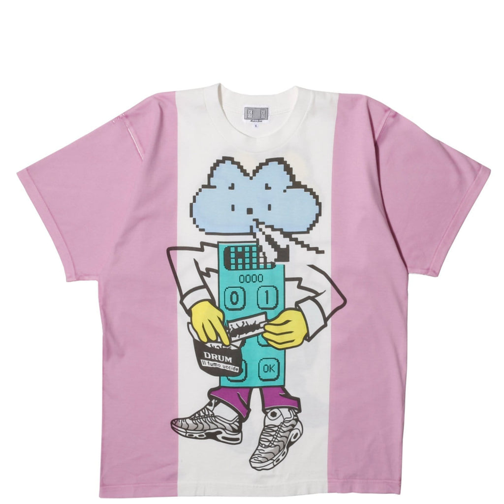 Cav Empt N M BOY BIG T Pink