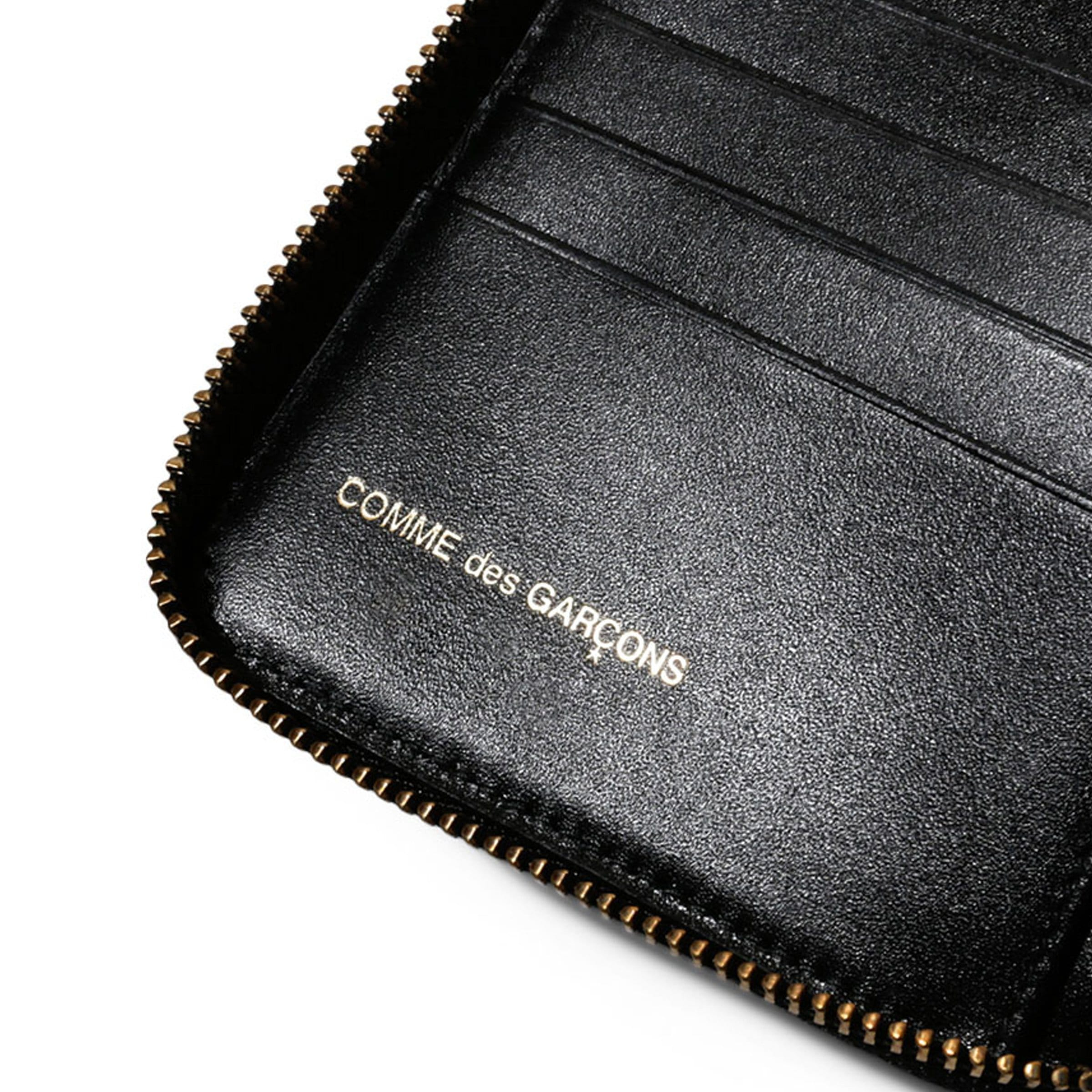 Comme Des Garçons Bags & Accessories BLACK / O/S DOTS PRINTED LEATHER LINE