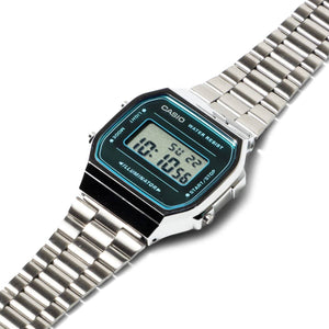 Casio Bags & Accessories SILVER / O/S A168WEM-2