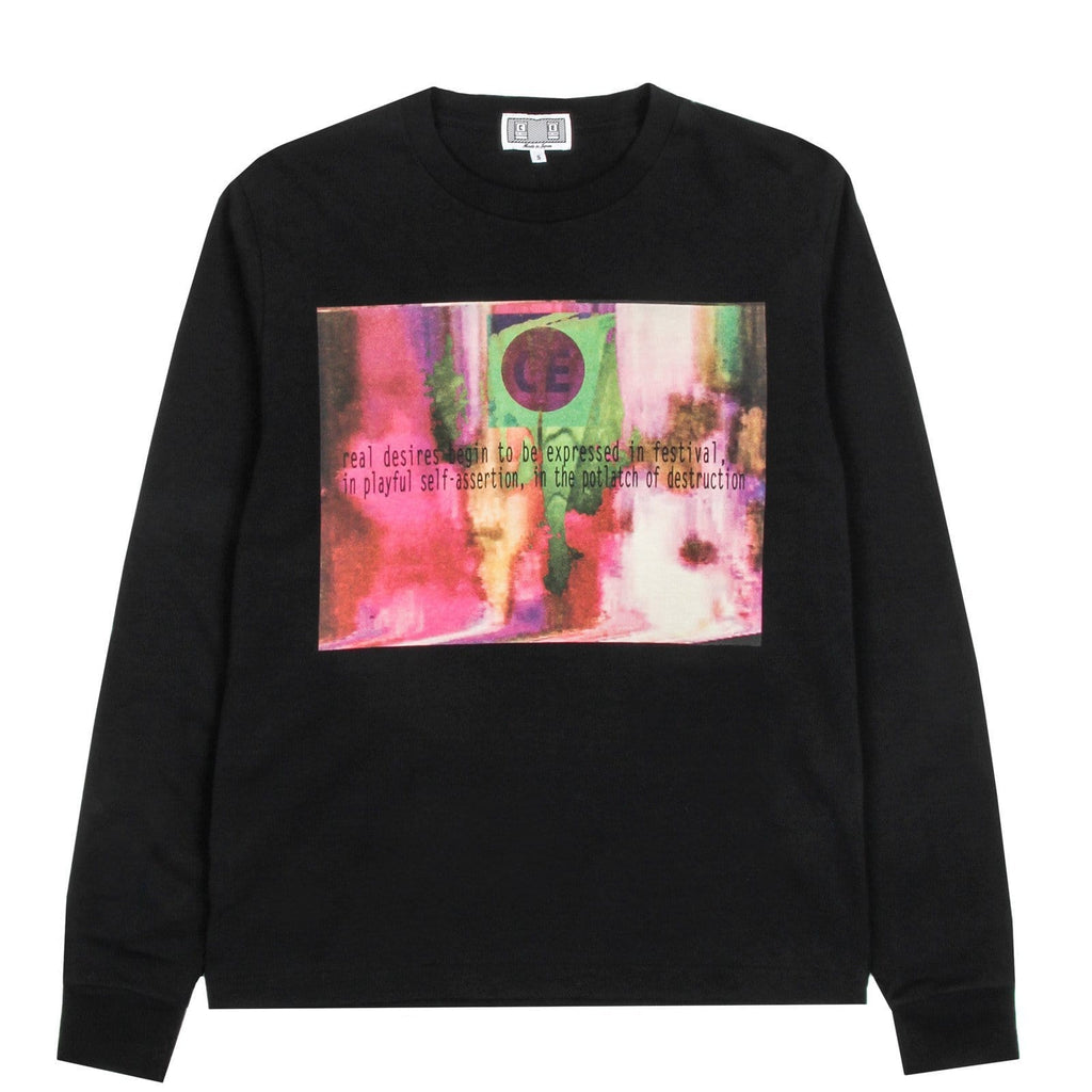Cav Empt REAL DESIRES LONG SLEEVE T Black