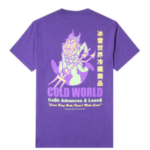 Cold World Frozen Goods T-Shirts CASH OUT TEE